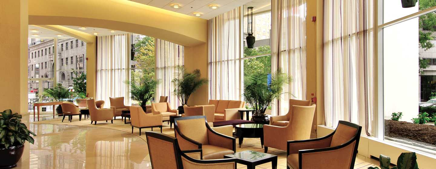 Embassy Suites Philadelphia – Center City Hotel, Pennsylvania, USA – Hotel-Lobby