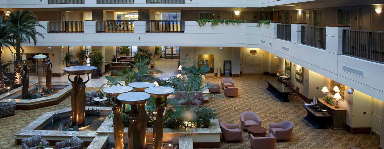 Embassy Suites by Hilton Sacramento Riverfront Promenade, USA – Atrium