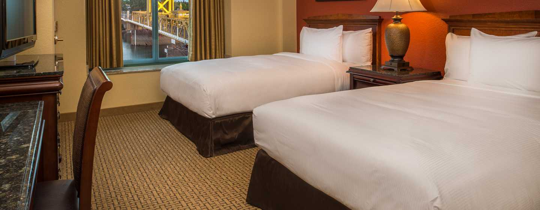 Embassy Suites by Hilton Sacramento Riverfront Promenade, USA – Suite mit Doppelbett