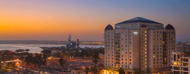 Embassy Suites San Diego Bay - Downtown, California - Fachada del hotel