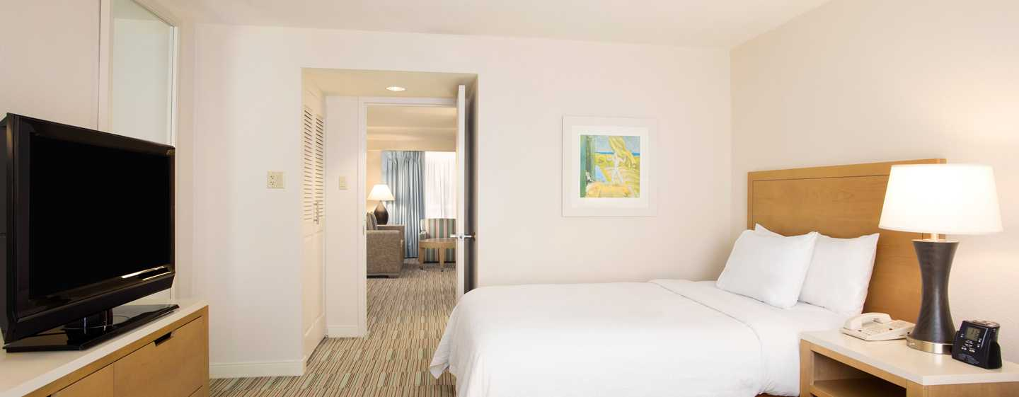 Embassy Suites by Hilton San Juan Hotel and Casino, Puerto Rico - Dormitorio con camas dobles