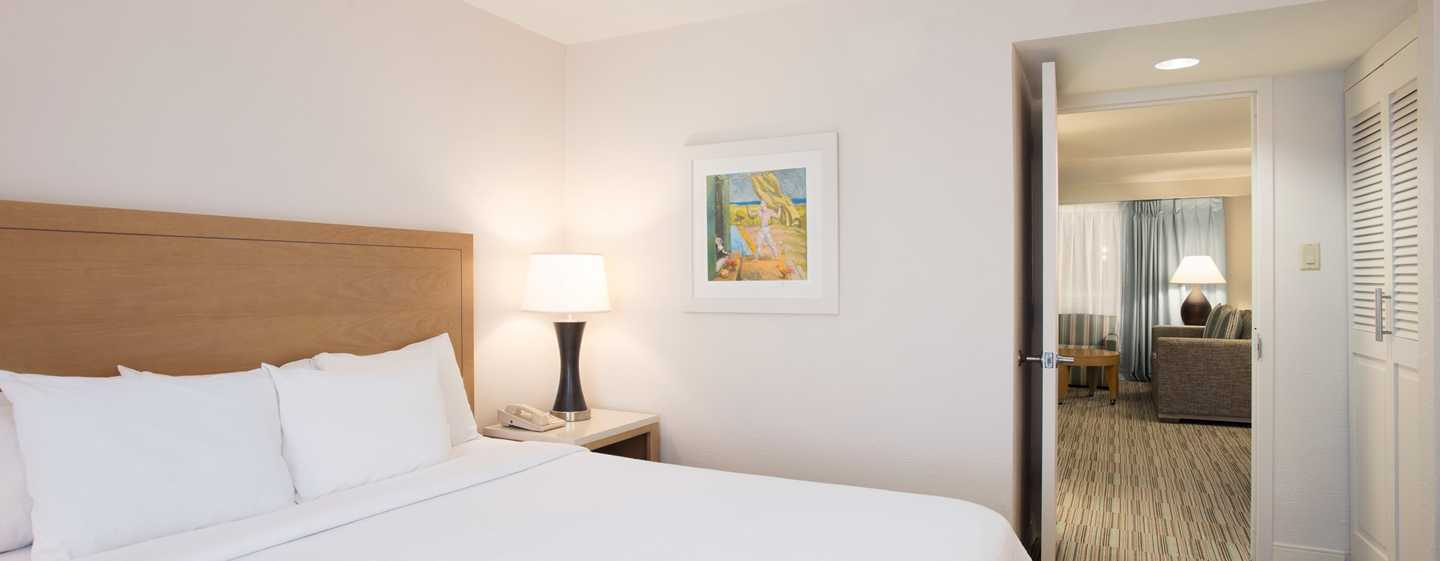 Embassy Suites by Hilton San Juan Hotel and Casino, Puerto Rico - Dormitorio con cama King