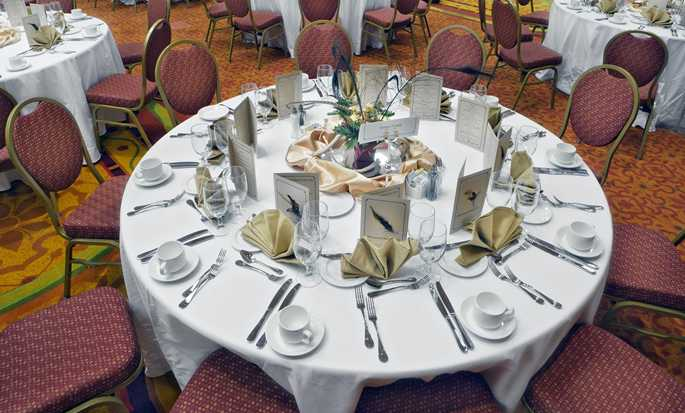 Embassy Suites by Hilton San Marcos Hotel, Conference Center and Spa, Texas, EE. UU. - Mesa de banquete