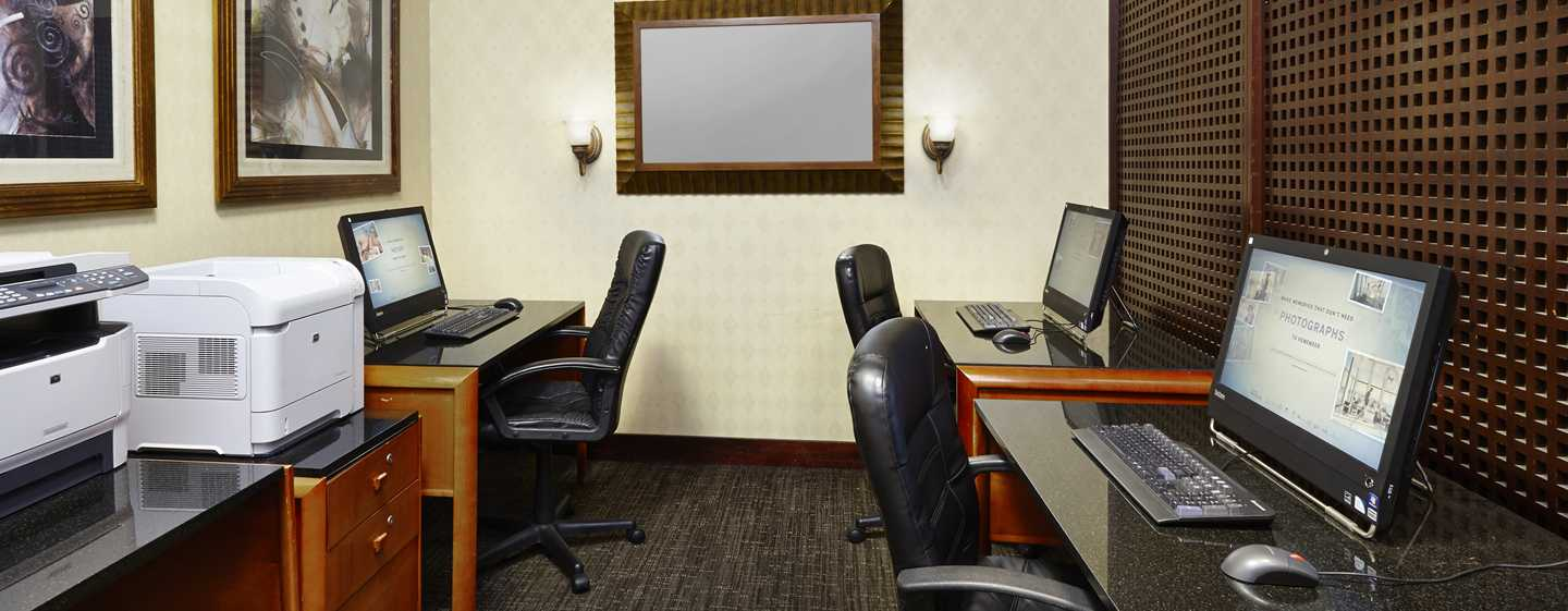 Embassy Suites by Hilton Washington DC Georgetown Hotel, USA– Business Center