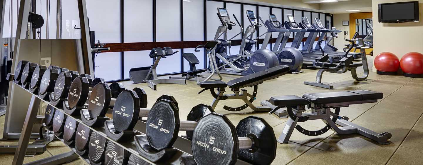 Embassy Suites by Hilton Washington DC Georgetown Hotel, USA– Fitnesscenter