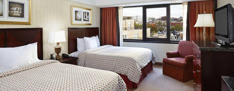 Embassy Suites by Hilton Washington DC Georgetown Hotel, USA– Zimmer mit zwei Queen-Size-Betten