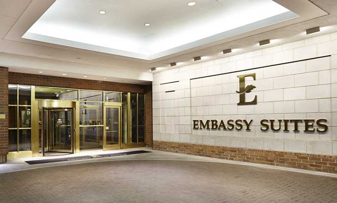 Hotel Embassy Suites by Hilton Washington D.C. Georgetown, EE. UU. - Lobby del hotel