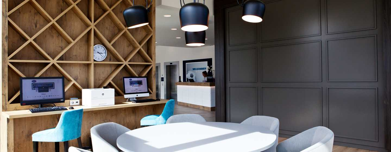 Hampton by Hilton Aachen Tivoli Hotel, Deutschland– Business Center