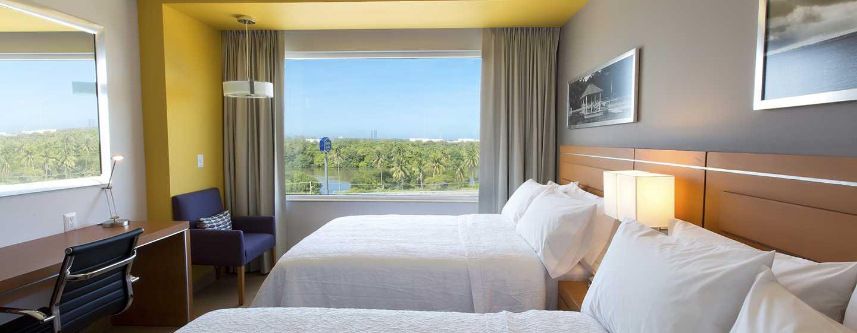 Hampton Inn & Suites by Hilton Paraiso, México - Habitación con camas dobles 2