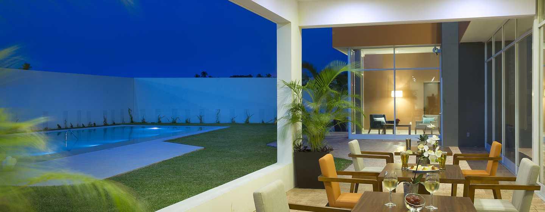 Hampton Inn & Suites by Hilton Paraiso, México - Veranda al aire libre