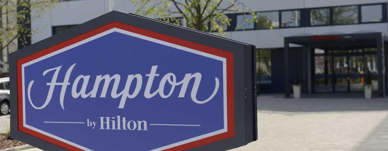 Hôtel Hampton by Hilton Amsterdam Airport Schiphol - Entrée de l'hôtel