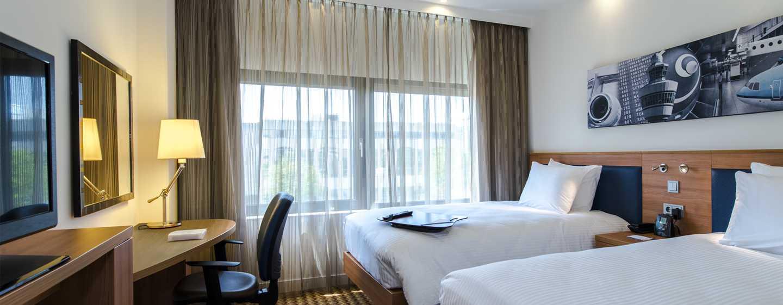 Hôtel Hampton by Hilton Amsterdam Airport Schiphol - Chambre avec lits jumeaux