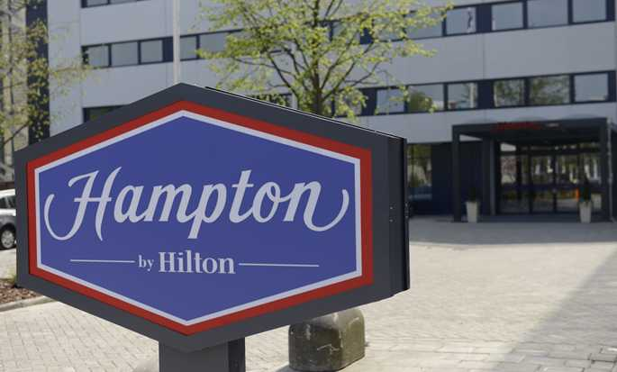 Hampton by Hilton Amsterdam Airport Schiphol Hotel, Nederland - Hotel buitenkant