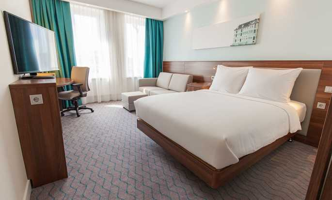 Hampton by Hilton Amsterdam Centre East hotel, Nederland - Twin kamer