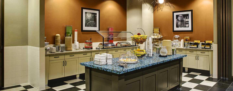 Hotellet Hampton Inn & Suites Austin vid universitetet/Capitol, USA – Frukostbuffé