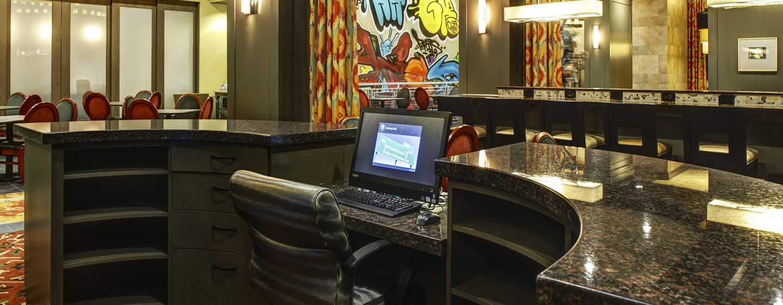 Hotellet Hampton Inn & Suites Austin vid universitetet/Capitol, USA – Affärscenter