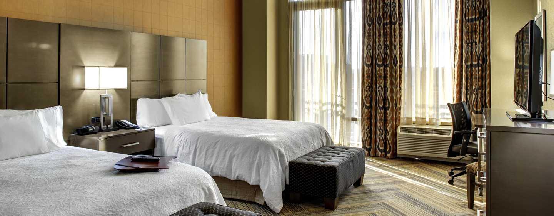 Hotellet Hampton Inn & Suites Austin vid universitetet/Capitol, USA – Dubbelrum