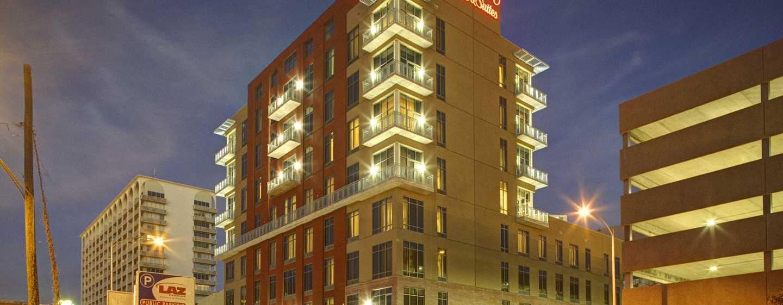Hampton Inn & Suites Austin @ The University/Capitol hotel, USA - Hotellet från utsidan