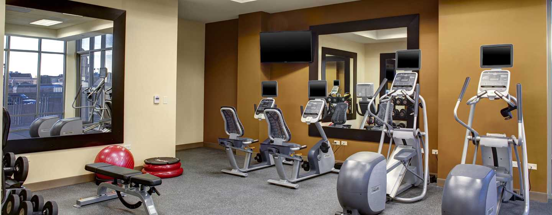 Hotellet Hampton Inn & Suites Austin vid universitetet/Capitol, USA – Fitnesscenter