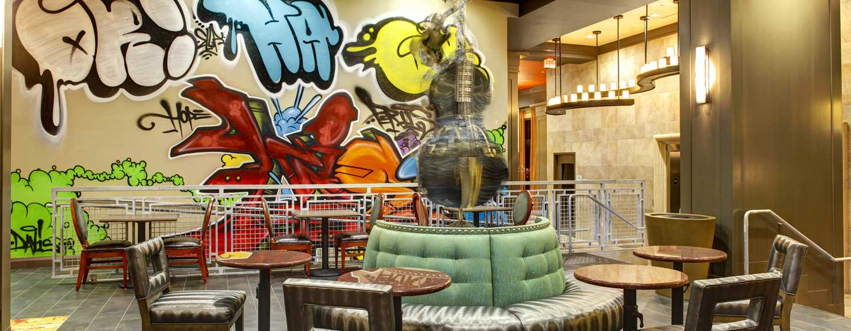 Hotellet Hampton Inn & Suites Austin vid universitetet/Capitol, USA – Lobbyn