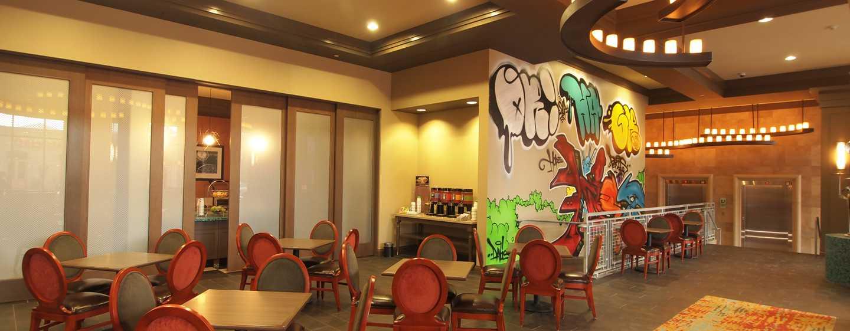 Hotellet Hampton Inn & Suites Austin vid universitetet/Capitol, USA – Restaurang