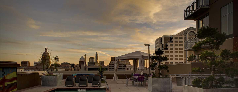 Hotellet Hampton Inn & Suites Austin vid universitetet/Capitol, USA – Taksimbassäng