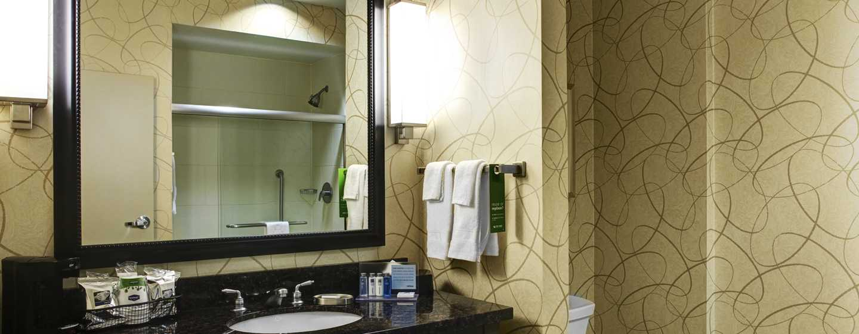 Hotellet Hampton Inn & Suites Austin vid universitetet/Capitol, USA – Standardbadrum