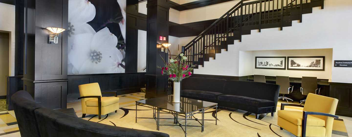 Hampton Inn & Suites Chicago-Downtown, EUA - Lobby do hotel