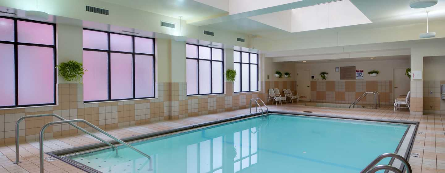 Hampton Inn & Suites Chicago-Downtown, EUA - Piscina coberta