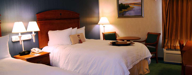 Hampton Inn by Hilton Chihuahua City, México - Habitación con dos camas Queen
