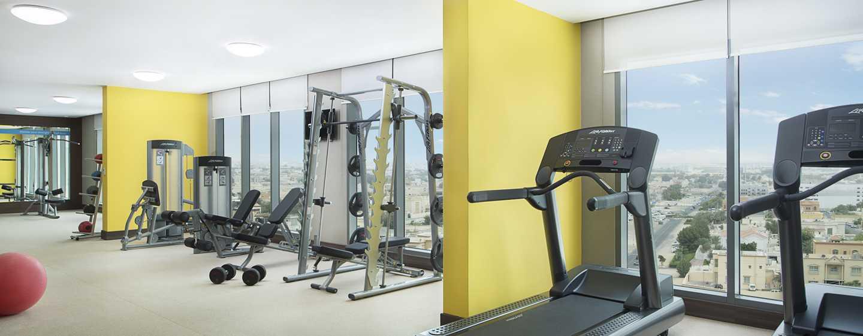 Hampton by Hilton Dubai Airport, VAE – Fitnesscenter