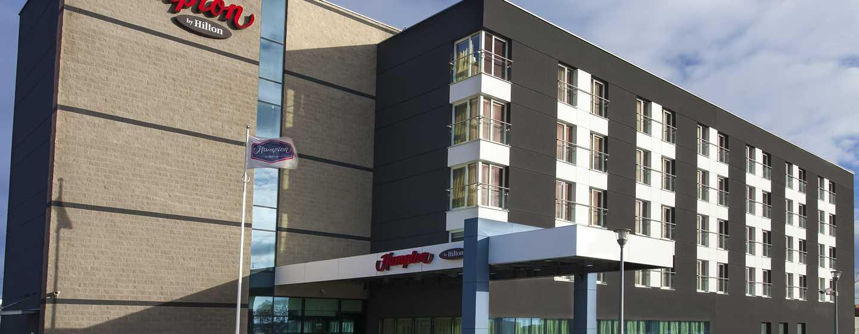 Hampton by Hilton Gdańsk Airport Hotel, Polska – Fasada hotelu
