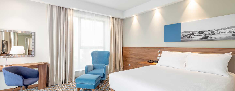 Hotel Hampton by Hilton Oświęcim, Polska ‒ Pokój Queen zudogodnieniami dla osób niepełnosprawnych