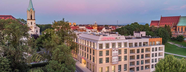 Hotel Hampton by Hilton Oświęcim, Polska ‒ Widok z zewnątrz