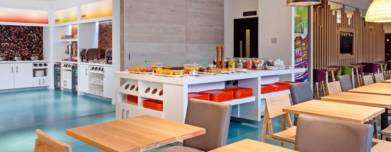 Hampton by Hilton London Waterloo Hotel, Storbritannien – Frukost