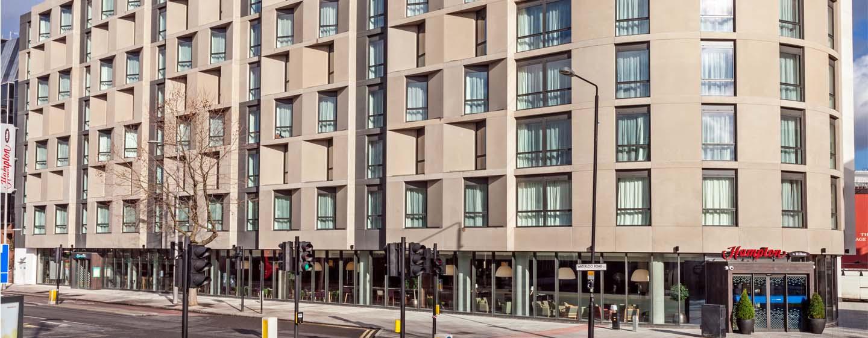 Hampton by Hilton London Waterloo Hotel, Storbritannien – Waterloo Hotel fasad
