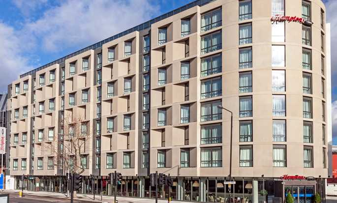 Hotel Hampton by Hilton London Waterloo, Reino Unido – Exterior do hotel em Waterloo
