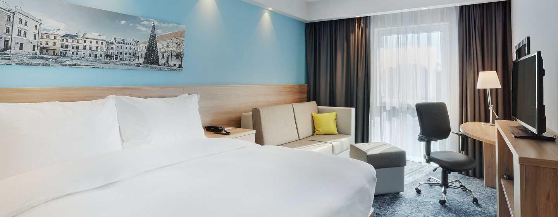 Hampton by Hilton Lublin, Polska – Pokój Queen Bed
