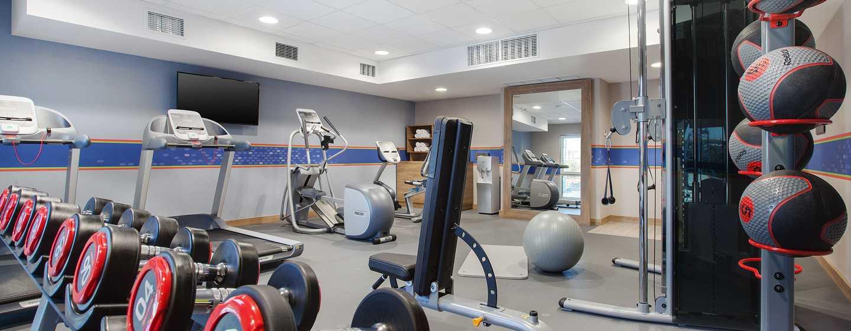 Hampton by Hilton Lublin, Polska – Sala fitness