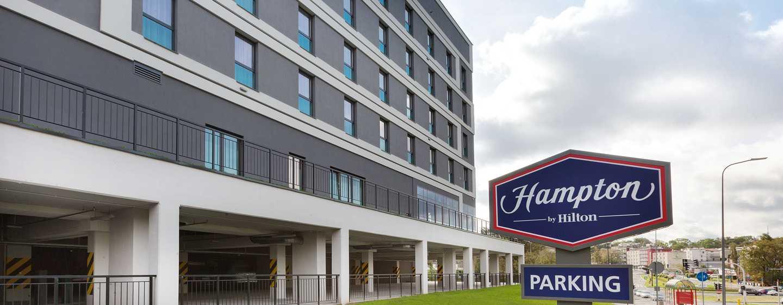 Hampton by Hilton Lublin, Polska – Parking podziemny na 74 miejsca