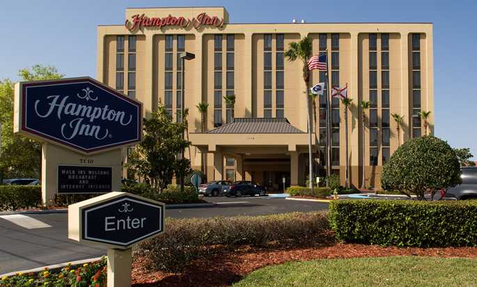 Hotel Hampton Inn Orlando Near Universal Blv/International Dr, Flórida – Exterior do hotel