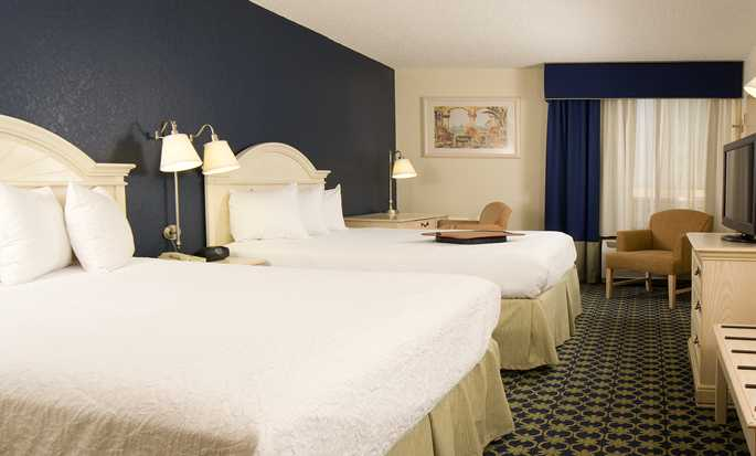 Hotel Hampton Inn Orlando Near Universal Blv/International Dr, Flórida – Quarto com duas camas queen-size