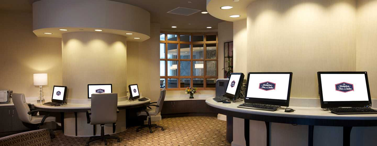 Hotel Hampton Inn & Suites Miami/Brickell-Downtown, Flórida – Business center