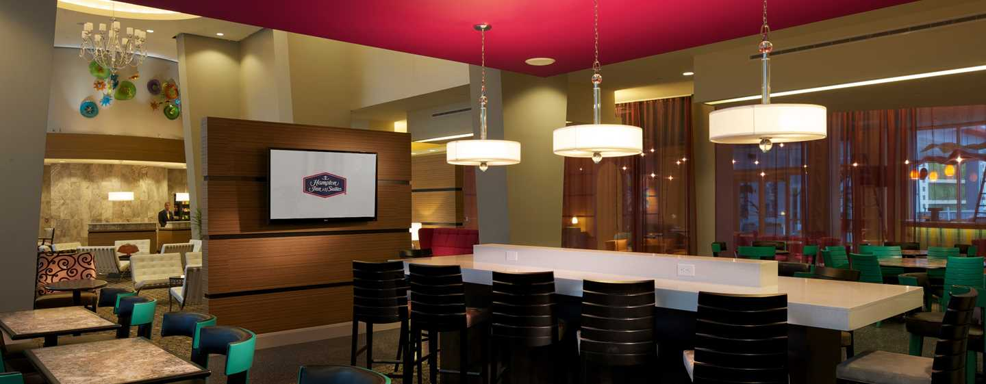 Hampton Inn & Suites Miami/Brickell-Downtown Hotel, FL – Essbereich