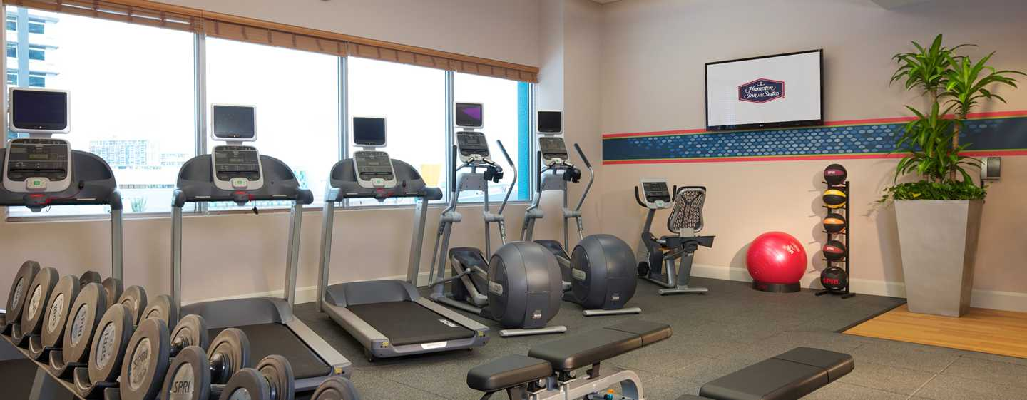 Hampton Inn & Suites Miami/Brickell-Downtown Hotel, FL – Fitnesscenter