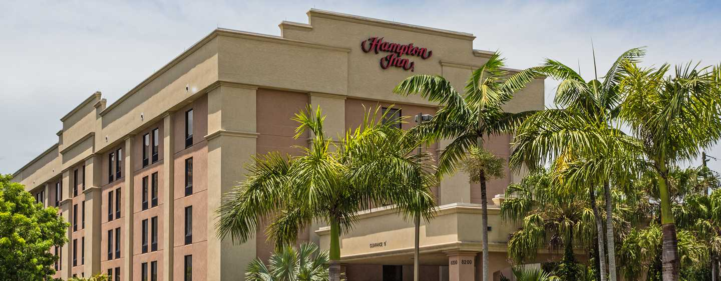 Hotel Hampton Inn Miami Dadeland, Florida - Exterior do hotel