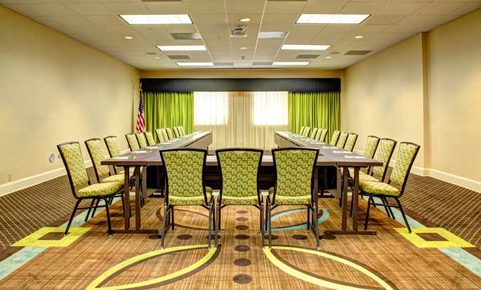 Hotel Hampton Inn & Suites Miami-Airport South-Blue Lagoon, Florida - Montaje tipo conferencia