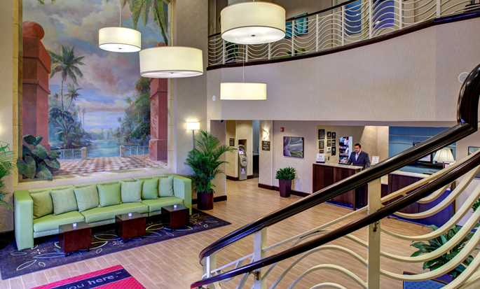 Hotel Hampton Inn & Suites Miami-Airport South-Blue Lagoon, Flórida – Lobby