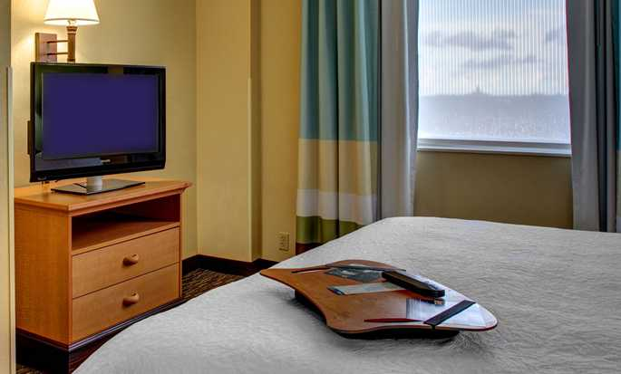 Hampton Inn & Suites Miami-Airport South-Blue Lagoon Hotel, FL - King Suite w/ Kitchen NS