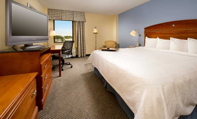 Hampton Inn Miami-Airport West, Doral, Flórida, EUA - Quarto King